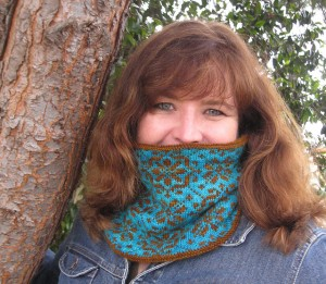 Byzantine Cowl by Stephanie Tallent